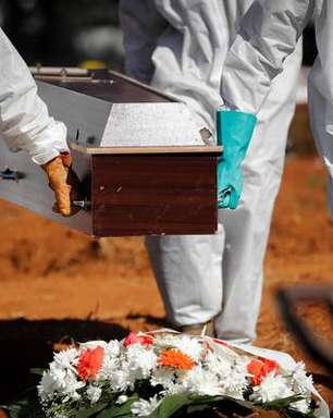 Brasil tem nº mais baixo de mortes por covid desde janeiro