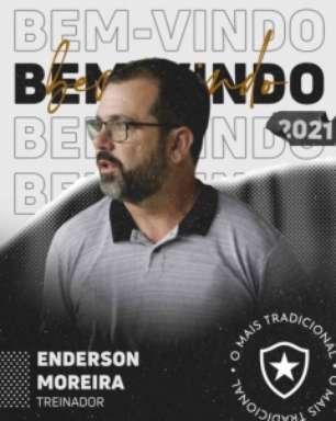 Torcida do Botafogo reprova contratação do técnico Enderson Moreira