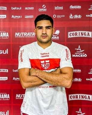 Novo reforço do CRB, Júnior Brandão 'cheira a gol' na Série B