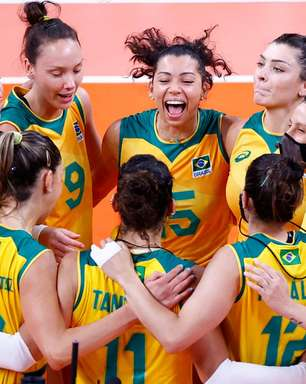 Brasil vence Coreia do Sul em estreia no vôlei feminino