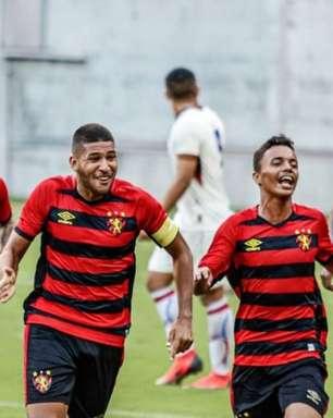 Capitão do Sub-20, Renzo comemora reação do Sport no Brasileiro da categoria