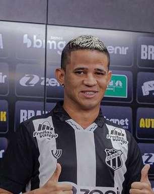 Erick manda recado ao vestir a camisa do Ceará: 'É o maior do nordeste'