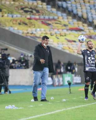 Técnico do ABC lamenta revés contra o Flamengo mas valoriza temporada do clube: 'Não é o nosso campeonato'