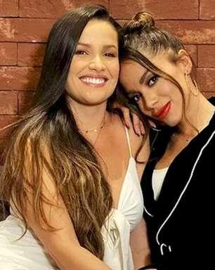 Anitta chama atenção de Juliette por rever BBB21
