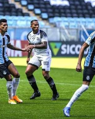 Contra o Grêmio, Tiago Nunes sentiu falta de 'mais profundidade' na equipe do Ceará