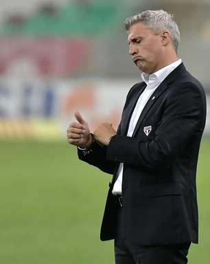 Crespo admite que São Paulo não jogou bem contra o Flu