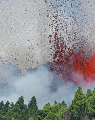 Vulcão entra em erupção nas Ilhas Canárias