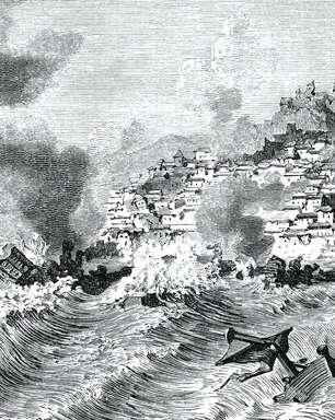 O raro tsunami que atingiu o Brasil em 1755