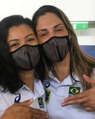 Carol Gattaz é confundida e recebe prêmio de melhor central do Sul-Americano de Vôlei por engano