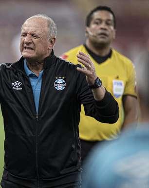 Após derrota para o Santos, Grêmio anuncia saída de Felipão