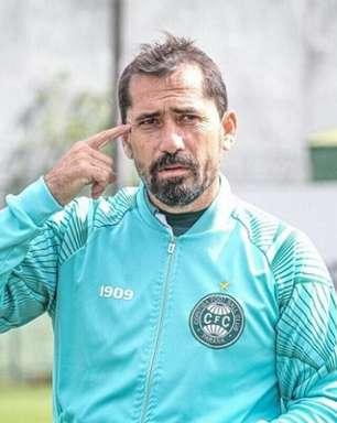 Gustavo Morínigo faz apelo ao torcedor do Coritiba