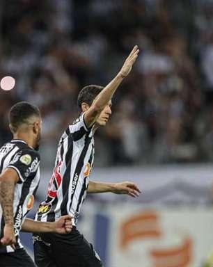 Atlético-MG vence o Santos e segue firme na liderança