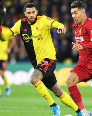 Watford x Liverpool: onde assistir, horário e escalações do jogo do Campeonato Inglês