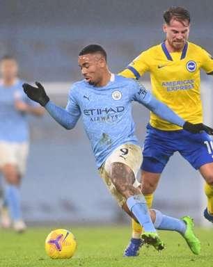 Brighton x Manchester City: onde assistir, horário e escalações do confronto da Premier League