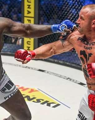 'Homem Mais Forte do Mundo' impressiona no KSW 64 e nocauteia gigante senegalês em 18s; assista