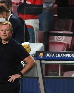 Após derrota, Barcelona anuncia a demissão de Ronald Koeman