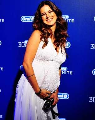 """""""Muita gente fala que fico linda grávida"""", diz Vera Viel"""