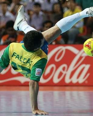 Brasil aposta em 'amuleto' para bater a Espanha no futsal