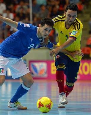 Itália domina segundo tempo, bate Colômbia e conquista bronze