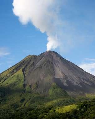 Vulcões inativos despertam interesse em turistas radicais