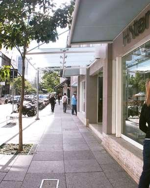 Rua em SP reúne grifes mais badaladas do Brasil e do mundo
