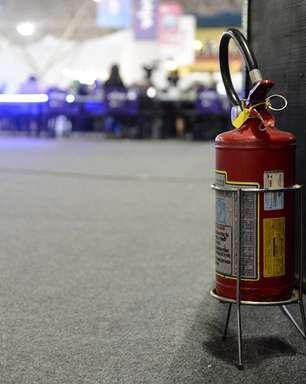Possibilidade de incêndio preocupa participantes da Campus Party