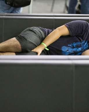 Dorminhocos: campuseiros são vencidos pelo sono no evento