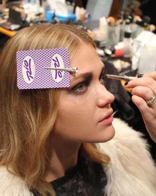 Aprenda o truque de maquiagem do desfile de John Richmond