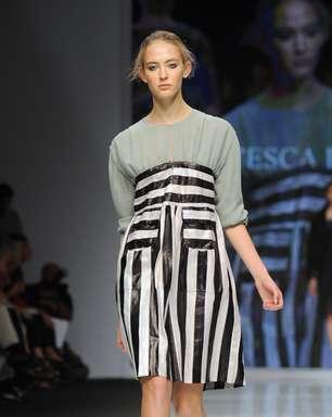 Novos talentos encerram a semana de moda de Milão