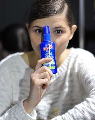 Com alerta sobre dengue, modelos adotam repelente nos bastidores