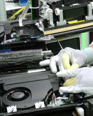 Vídeo: conheça a fábrica do PlayStation 3 no Brasil
