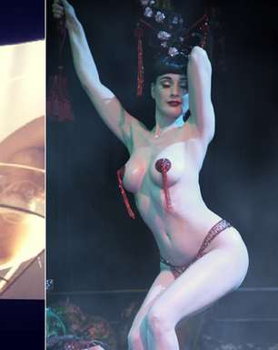 'Salve Jorge': Lívia se inspirava em Dita Von Teese quando stripper; veja
