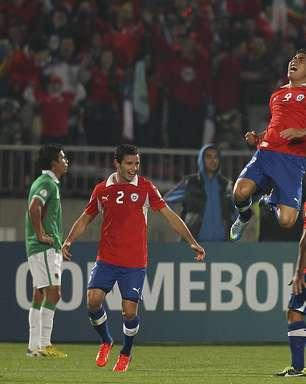 Chile vence Bolívia e abre cinco pontos no G-4 para Mundial