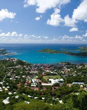 Visitante precisa de visto dos EUA para ir a Saint Thomas