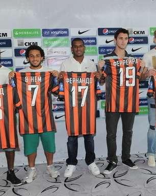 Shakhtar apresenta oficialmente Wellington Nem, Fernando e Fred