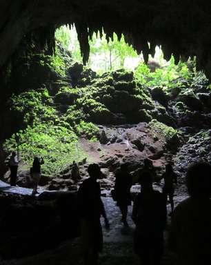 Parque perto de San Juan tem cavernas de milhões de anos