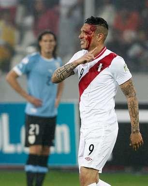 No Peru, Guerrero é hospitalizado após cotovelada; exame descarta problema