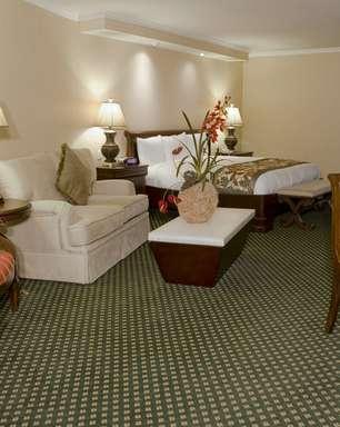 Hotel oferece conforto e infraestrutura no deserto mexicano
