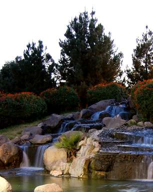 Parque de Torreón é oásis verde em meio ao deserto mexicano