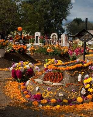 Dia dos Mortos é uma festa em povoado milenar mexicano