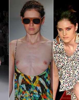 Celulite, seios à mostra e chilique: confira polêmicas do Fashion Rio