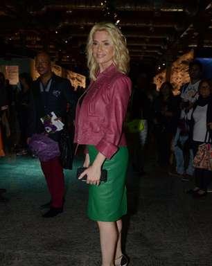 Sem Perimetral, Letícia Spiller passa sufoco para chegar ao Fashion Rio