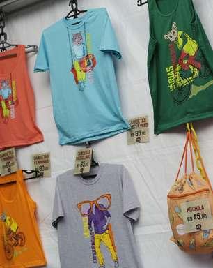 Para lembrar: camisetas e bags fazem sucesso na loja do Planeta Terra