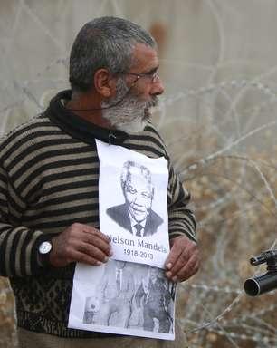 Morte de Mandela causa tristeza na Palestina e constrangimento em Israel