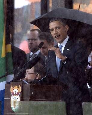 Mandela foi o último grande libertador do século XX, diz Obama