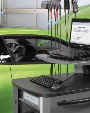Computador especial ajuda a identificar problemas do carro