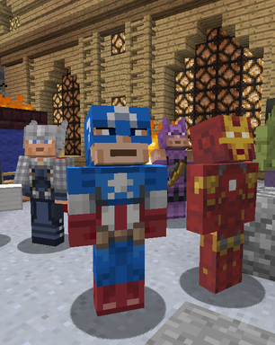 Armaduras dos 'Vingadores' chegam ao 'Minecraft' para Xbox 360