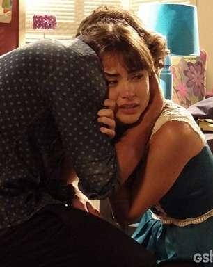 'Amor à Vida': Patrícia chora com Michel ao saber quem é o pai de seu filho