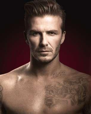 Beckham mostra tatuagem feita para filha em anúncio