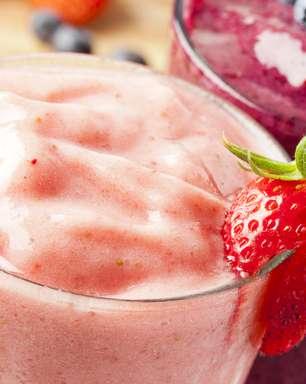 Servido gelado, smoothie ajuda a espantar o calor; aprenda